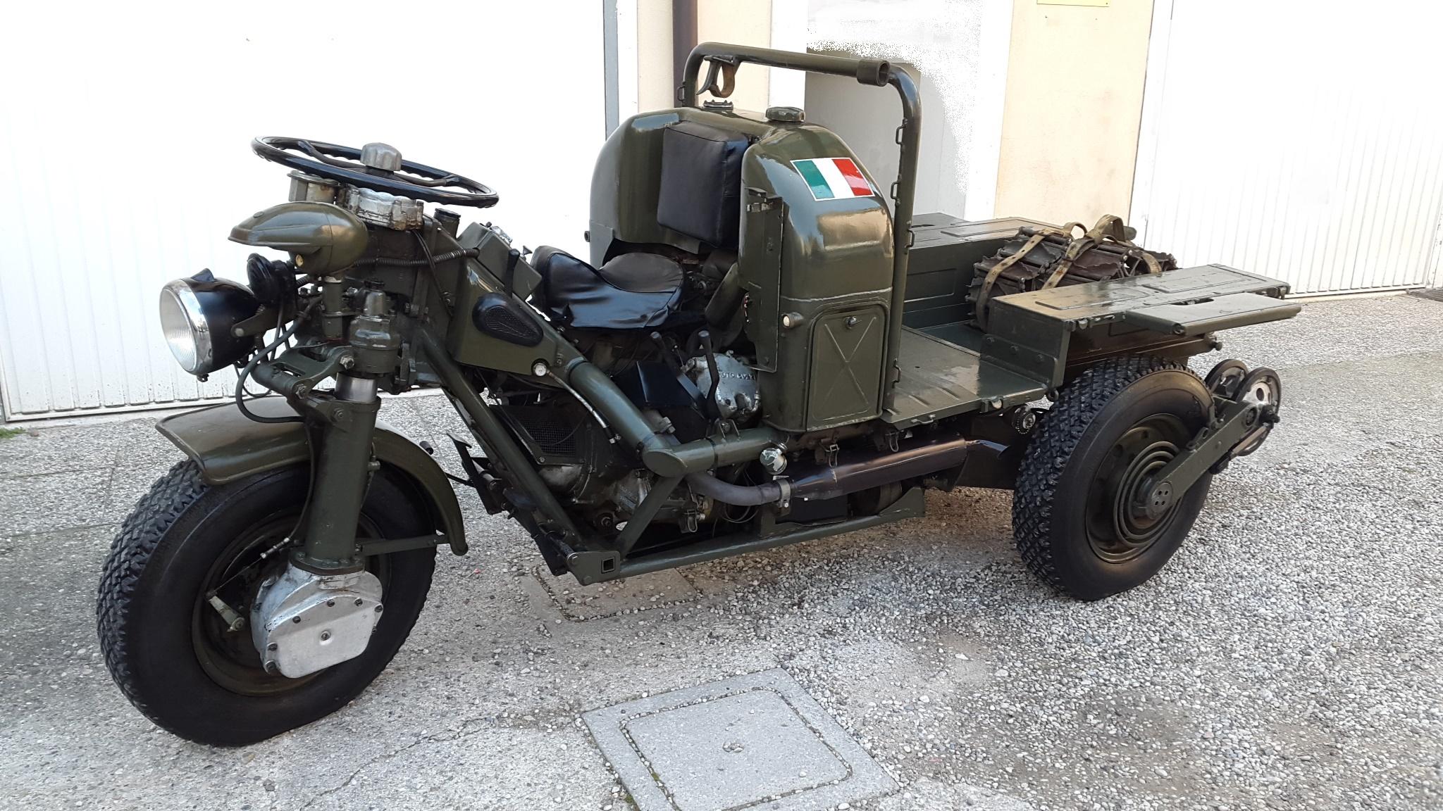 """Moto Guzzi 3X3 """" Mulo meccanico"""" – GarlattiMoto – Moto d'Epoca – Verona"""